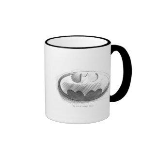 Batman-Insignie-Zeichnen Tassen