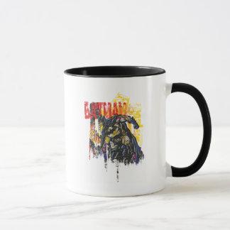 Batman-Linie Kunst-Collage Tasse