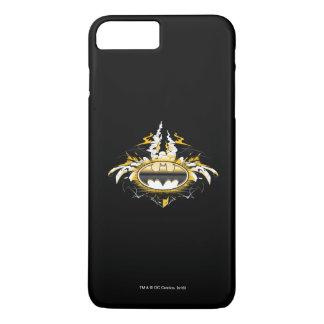 Batman-Logo mit Autos iPhone 8 Plus/7 Plus Hülle