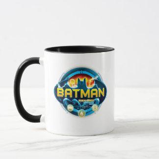 Batman-Logo mit Ikonen Tasse