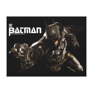Batman mit Batclaw Galerie Gefaltete Leinwand