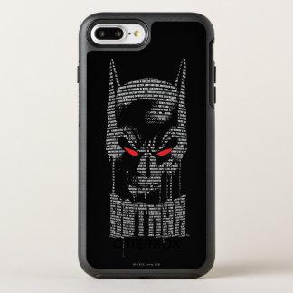 Batman mit Beschwörungsformel OtterBox Symmetry iPhone 8 Plus/7 Plus Hülle