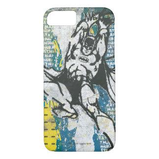 Batman - oben steigen Collage 2 iPhone 8/7 Hülle