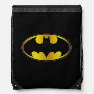 Batman-Oval-Logo Turnbeutel