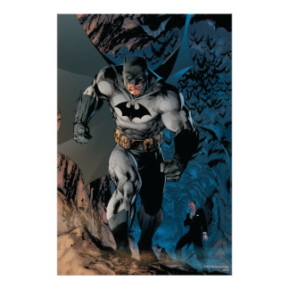 Batman-Schritt Poster