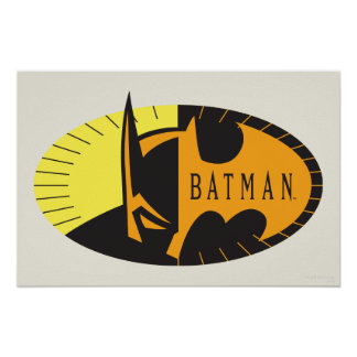 Batman-Silhouette Poster