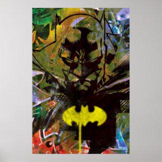 Batman-städtisches angesagtes posterdrucke