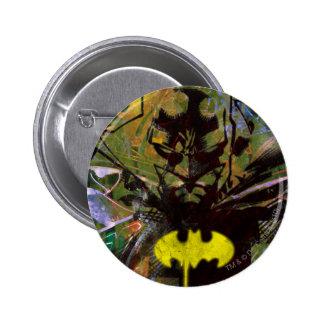 Batman-städtisches angesagtes runder button 5,7 cm