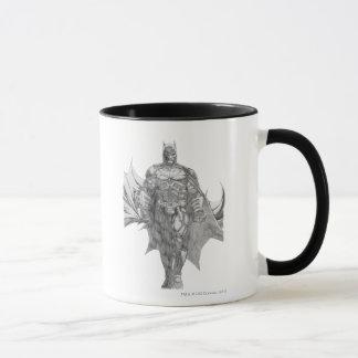 Batman-stehendes Zeichnen Tasse