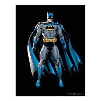 Batman steht oben postkarten