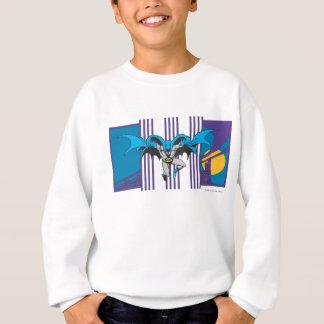Batman-Streifen Sweatshirt