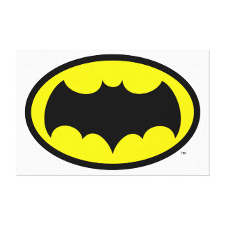 Batman-Symbol Galerie Falt Leinwand