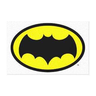 Batman-Symbol Leinwand Druck