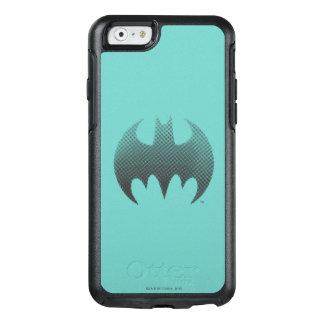 Batman-Symbol Schwarz-weißes | verblassen Logo OtterBox iPhone 6/6s Hülle