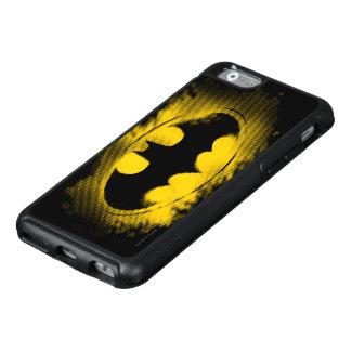 Batman-Symbol | schwarzes und gelbes Logo OtterBox iPhone 6/6s Hülle