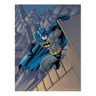 Batman-Szenen - hängend von der Leiste Postkarten