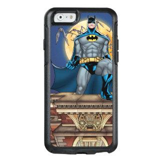 Batman-Szenen - Mond-Vorderansicht OtterBox iPhone 6/6s Hülle