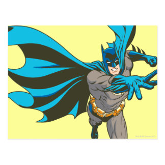 Batman teilen aus postkarte