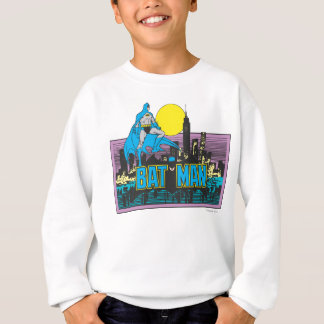 Batman u. Buchstaben Sweatshirt
