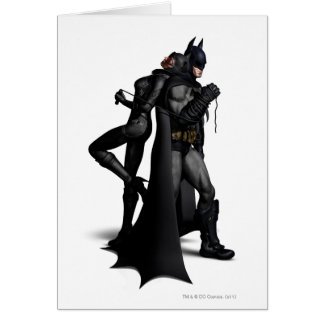 Batman u. Catwoman Grußkarte