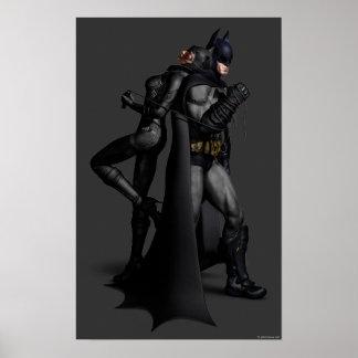Batman u. Catwoman Poster