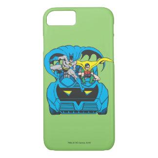 Batman u. Robin-Fahrt Batmobile iPhone 8/7 Hülle