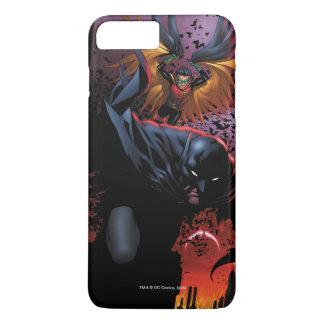 Batman u. Robin-Flug über Gotham iPhone 8 Plus/7 Plus Hülle