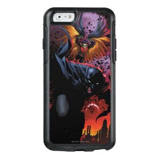 Batman u. Robin-Flug über Gotham OtterBox iPhone 6/6s Hülle