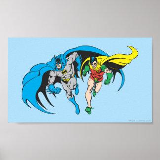 Batman u. Robin Poster