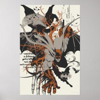 Batman und Baum Poster