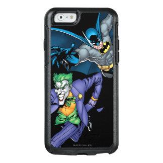 Batman und Joker mit Gewehr OtterBox iPhone 6/6s Hülle