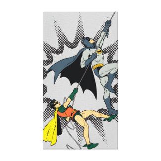 Batman und Robin-Aufstieg Leinwand Druck