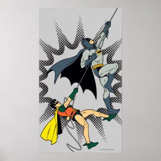 Batman und Robin-Aufstieg Poster