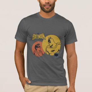 Batman und Robin-Grafik- beunruhigt T-Shirt
