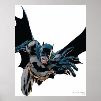 Batman vorwärts springend, Schrei Poster