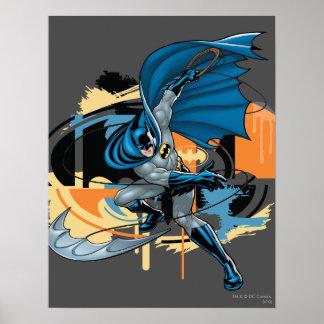 Batman-Wurf Poster