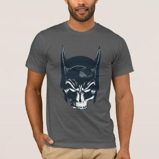 Batmanhauben-/-schädel-Ikone T-Shirt