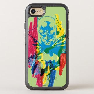 Batmanneonmarkierungs-Collage OtterBox Symmetry iPhone 8/7 Hülle