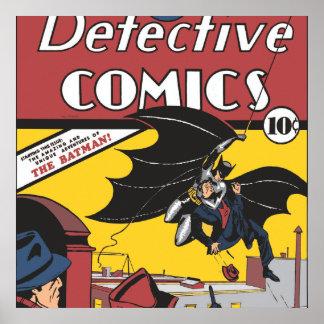 Batmans erstes Erscheinen Poster