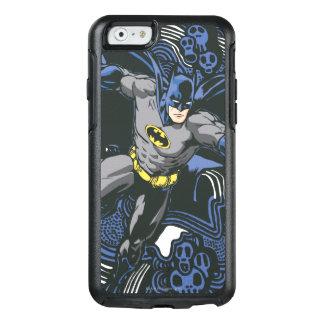 Batmanschädel-/-tinten-Gekritzel 2 OtterBox iPhone 6/6s Hülle