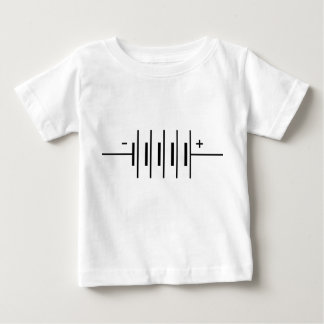 Batterie-Symbol Baby T-shirt