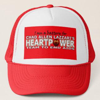 Batterie Tschads Allen Lazzari Heartpower Truckerkappe