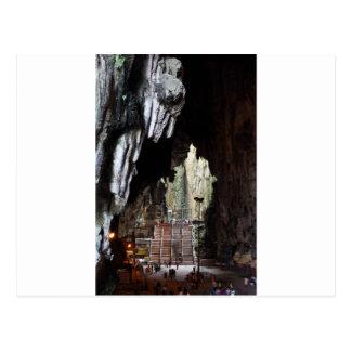 Batu höhlt Tempel Malaysia aus Postkarte