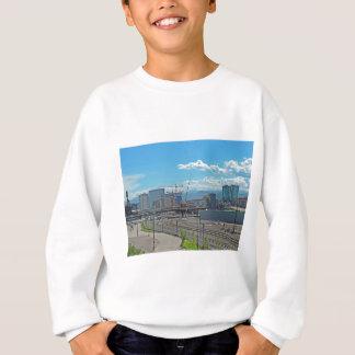 Bau in im Stadtzentrum gelegenem Denver Colorado Sweatshirt