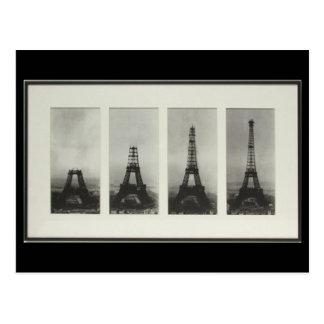 Bau von Postkarte Eiffelturm-Paris Frankreich