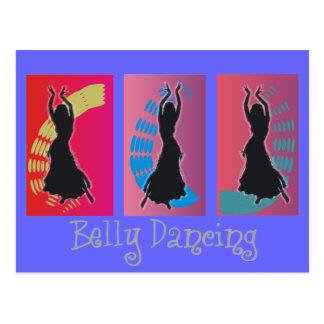Bauch-Tanzen-Kunst-Geschenke Postkarte