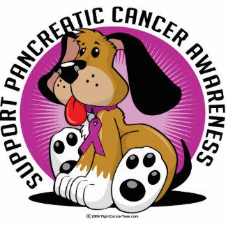 Bauchspeicheldrüsenkrebs-Hund Photo Skulptur