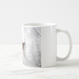 Bauchtänzerin im Silber Kaffeetasse