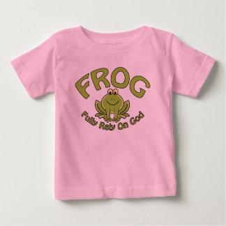 Bauen Sie völlig auf Gott Baby T-shirt
