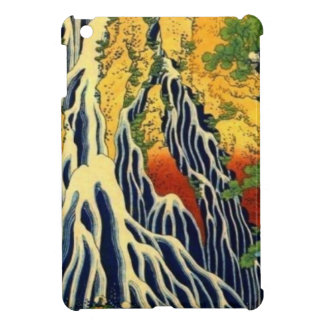 Bauern und Wasserfall iPad Mini Hülle